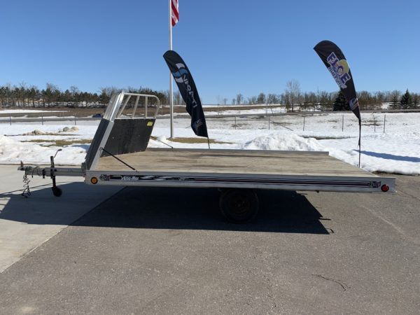 Floe Versa-Max Snowmobile Trailer 12' Ramp | Stock # 0216 | USED on trailer hitch harness, trailer generator, trailer brakes, trailer plugs, trailer fuses, trailer mounting brackets,
