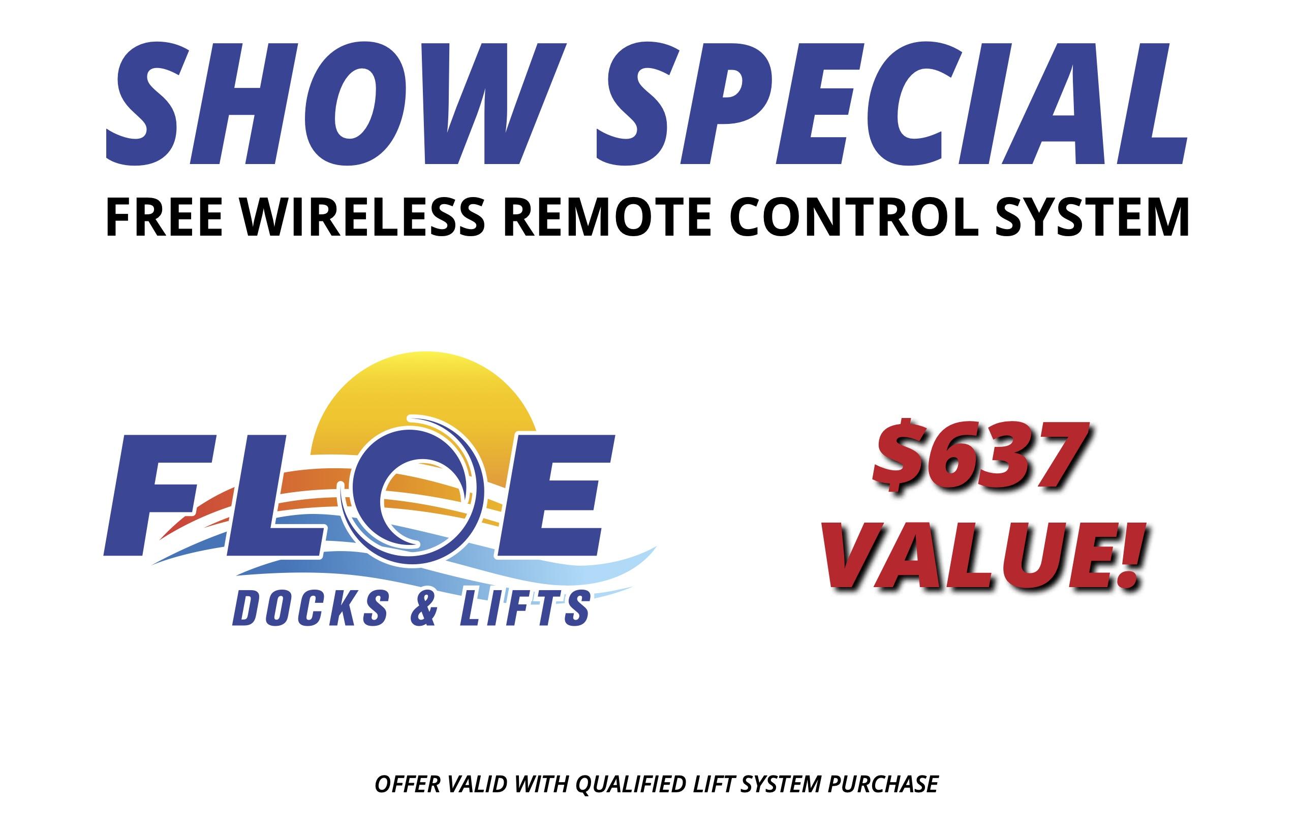 Show Promo Sign_Free Remote_2020_portal