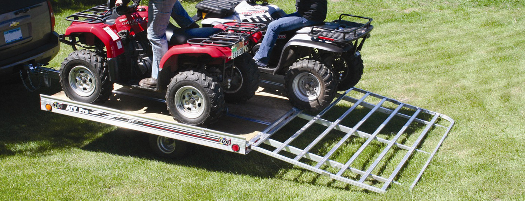 FLoe Trailers for ATVs