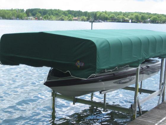 green-canopy-boat